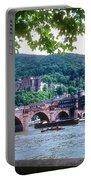 Karl Theodor Bridge And Heidelberg Castle  Portable Battery Charger