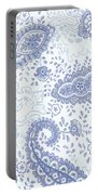 Kasbah Blue Paisley Portable Battery Charger