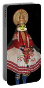 Kathakali Dancer Portable Battery Charger