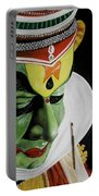kATHAKALI PAINTING REALISTIC Portable Battery Charger