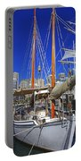 Kathleen Gillett The Artist Cruising Ketch Portable Battery Charger