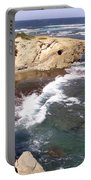 Kauai Coast With Shark Outcrop Portable Battery Charger