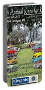 Kawanis Event Poster Portable Battery Charger