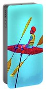 Kayak Guy On A Stick Portable Battery Charger