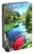 Kayak On Weeki Wachee Springs Portable Battery Charger