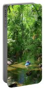 Kayaking In Tropical Paradise Portable Battery Charger