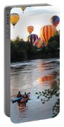 Kayaks And Balloons Portable Battery Charger