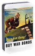 Keep Him Flying - Buy War Bonds  Portable Battery Charger