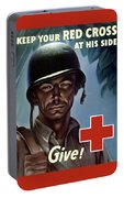 Keep Your Red Cross At His Side Portable Battery Charger