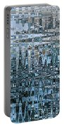 Keeping It Cool - Abstract Art Portable Battery Charger