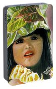 Keiki Child In Hawaiian #115 Portable Battery Charger