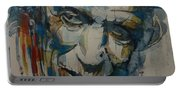 Keith Richards Art Portable Battery Charger