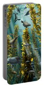 Kelp Forest With Seals Portable Battery Charger