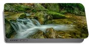 Kens Creek In Cranberry Wilderness Portable Battery Charger