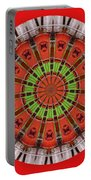 Kentucky Derby Glasses Kaleidoscope 3 Portable Battery Charger