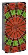 Kentucky Derby Glasses Kaleidoscope 8 Portable Battery Charger