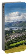 Keswick And Derwent Water View From Latrigg Portable Battery Charger