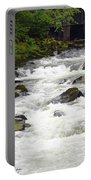 Ketchikan Creek Of Creek Street Fame Portable Battery Charger