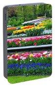 Keukenhof Tulips Ornamental Garden  Portable Battery Charger