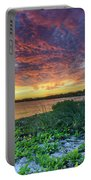 Key Biscayne Sunset Portable Battery Charger
