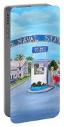Key West U.s. Naval Station Portable Battery Charger