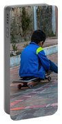 Kid Skateboarding Portable Battery Charger