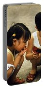 Kids In China 1986 Portable Battery Charger
