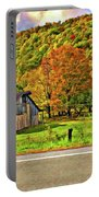 Kindred Barns Painted Portable Battery Charger by Steve Harrington