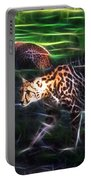 King Cheetah And 3 Cubs Portable Battery Charger