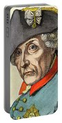 King Frederick II Of Prussia Portable Battery Charger