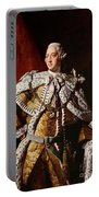 King George IIi Portable Battery Charger by Allan Ramsay