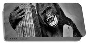 King Kong Selfie B W  Portable Battery Charger