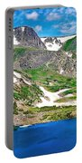 King Lake At Rollins Pass T Portable Battery Charger