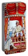 King Of Rex And Page - Mardi Gras New Orleans Portable Battery Charger