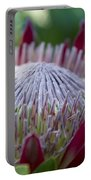 King Protea Island Flowers Jewel Of The Garden Portable Battery Charger