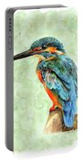 Kingfisher Blue Portable Battery Charger