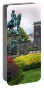 Kings Square Statue Of Christian 5th Portable Battery Charger