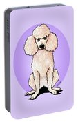 Kiniart Poodle Portable Battery Charger