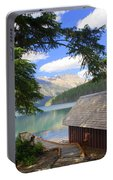 Kintla Lake Ranger Station Glacier National Park Portable Battery Charger