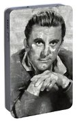 Kirk Douglas Hollywood Actor Portable Battery Charger