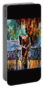 Kiss After The Rain Portable Battery Charger