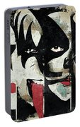 Kiss Art Print Portable Battery Charger