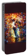 Kiss On The Bridge Portable Battery Charger