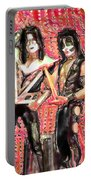 Kiss Watercolor Portable Battery Charger