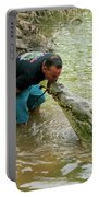 Kissing A Crocodile Portable Battery Charger