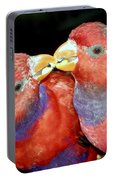 Kissing Birds Portable Battery Charger