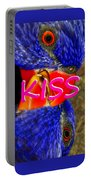 Kissing Birds Spca Portable Battery Charger