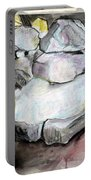 Kissing Rocks Portable Battery Charger by Jane Clatworthy