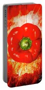 Kitchen Red Pepper Art Portable Battery Charger