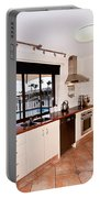 Kitchen With A River View Portable Battery Charger